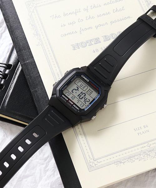 【 CASIO / カシオ 】 スタンダード デジタル 腕時計 W800H1A DKS