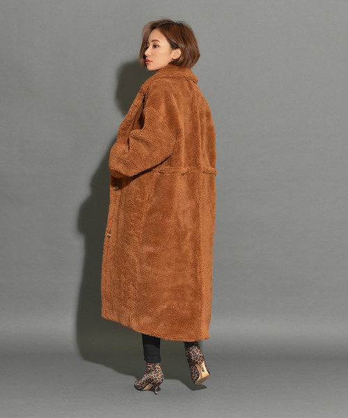 rich teddy coat