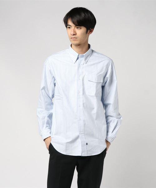 IKE BEHAR / ロングスリーブ ボタンダウンシャツ