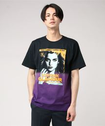 THE DEATH CITY pt Tシャツパープル