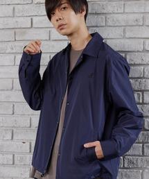 ▽WEB限定 MONO-MART×KANGOL 別注 オーバーサイズ コーチジャケットネイビー