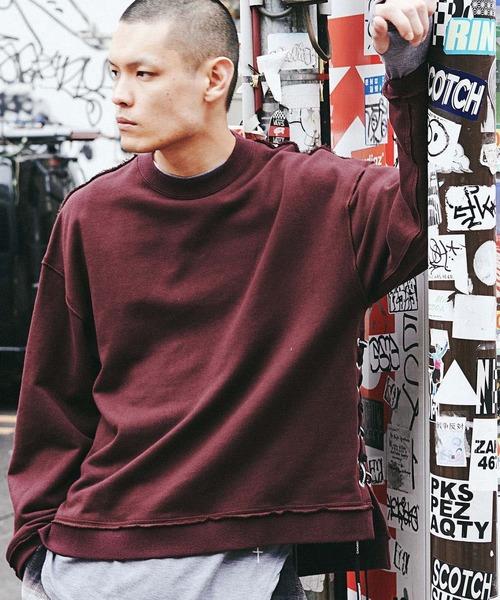 【超安い】 SIDE NUMBER CHORD LACE UP SWEAT(スウェット) LACE|CHORD NUMBER EIGHT(コードナンバーエイト)のファッション通販, オカヤシ:b6083a4b --- talkonomy.com