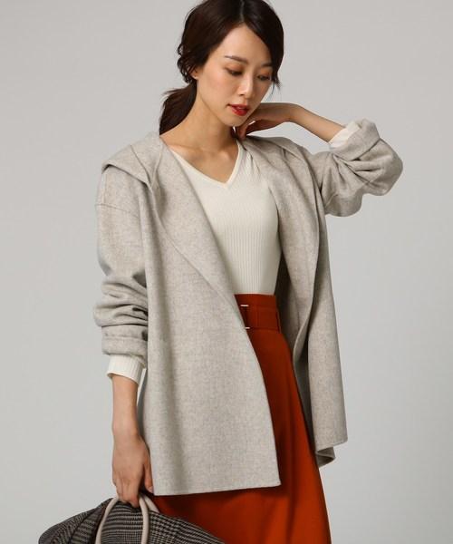 【限定品】 リバーフーデットショートコート(その他アウター)|UNTITLED(アンタイトル)のファッション通販, 業務用容器カイコム:5d82d7c5 --- ulasuga-guggen.de
