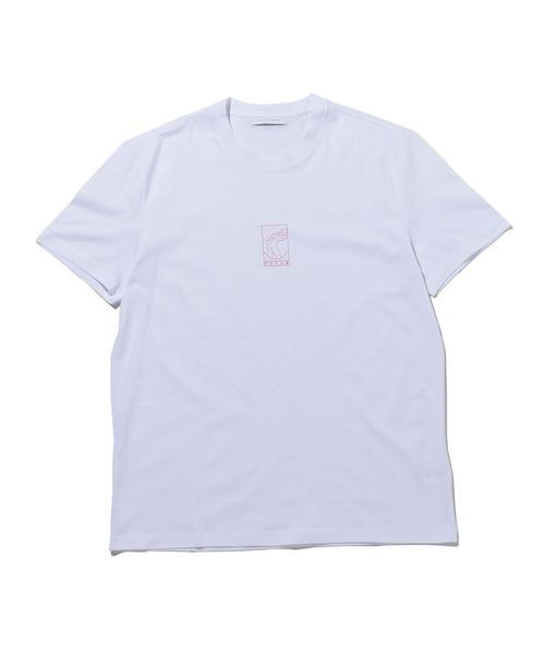 <FUTUR> 01 OUTLINE TEE/Tシャツ □□