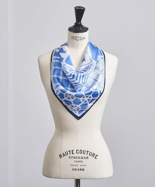 UBC ジオメトリック スカーフ
