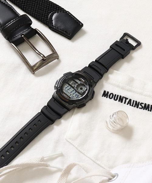 【 CASIO / カシオ 】 スタンダード デジタル 腕時計 AE1000W1A DKS
