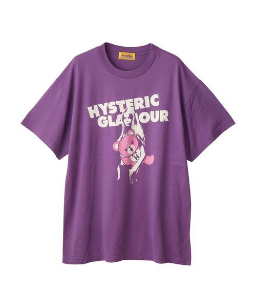 BEAR AND GIRL オーバーサイズTシャツ