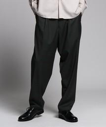 tk.TAKEO KIKUCHI(ティーケータケオキクチ)のCARREMAN ストレッチワイドスラックス(パンツ)
