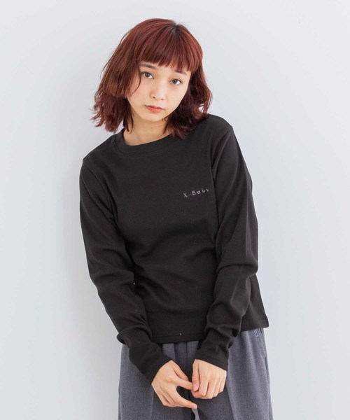 X-baby SOLID L/S TEE