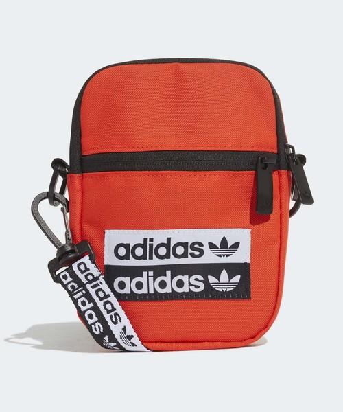 adidas(アディダス)の「フェスティバル バッグ [Festival Bag] アディダスオリジナルス(ボディバッグ/ウエストポーチ)」 レッド