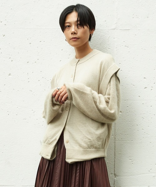 【SALE】 RITO ダブルニットカーディガン(カーディガン) RITO(リト)のファッション通販, 穂別町:503ba4c7 --- pyme.pe