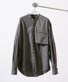 アメリカンラグシー AMERICAN RAG CIE / バンドカラー デザインシャツ