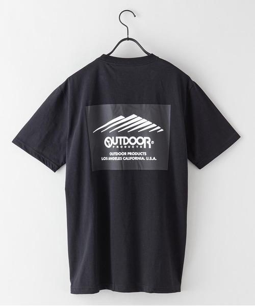 ドライ機能付き(速乾機能)バックプリント(背面)ブランドロゴ/ビッグシルエットTシャツ