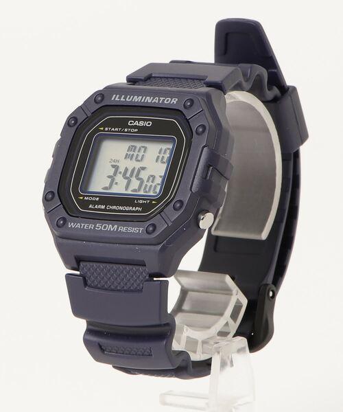 【 CASIO / カシオ 】デジタル時計 W218H2A DKS