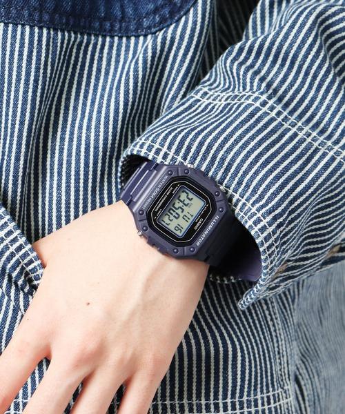 【 CASIO / カシオ 】 チープカシオ デジタル 腕時計 W218H2A DKS