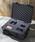 F: Lage Case 1560NF(ブラック) 別売の「1510用 ポリウレタン製内装フォームセット」使用例