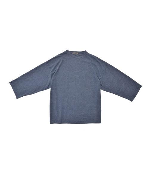 ビッグシルエット9分袖T