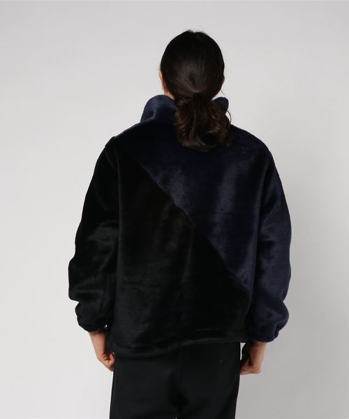 Changeover Pullover Fur Blouson