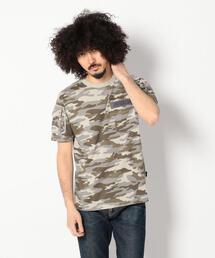 AVIREX(アヴィレックス)のavirex/アヴィレックス/メンズ/S/S CAMOUFLAGE FATIGUE T-SHIRT/半袖 迷彩 ファティーグ Tシャツ(Tシャツ/カットソー)