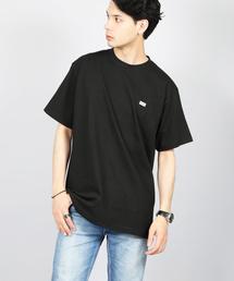 KANGOL(カンゴール)のbling leads/KANGOLワッペンプリントTEE(Tシャツ/カットソー)