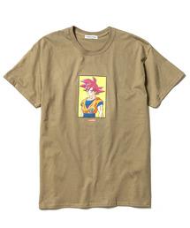 F-LAGSTUF-F× DRAGON BALL/フラグスタフ×ドラゴンボール GOKU TEE/プリントTシャツ(Tシャツ/カットソー)