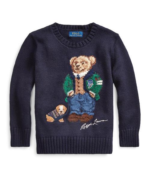 【日本産】 Polo ベア コットンウール ベア セーター(ニット/セーター)|Polo LAUREN Ralph Lauren RALPH Childrenswear(ポロラルフローレンチャイルドウェア)のファッション通販, Lachic:a82ea158 --- 5613dcaibao.eu.org