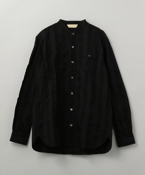 THE STYLIST JAPAN(ザ スタイリスト ジャパン) BAND COL SHIRT