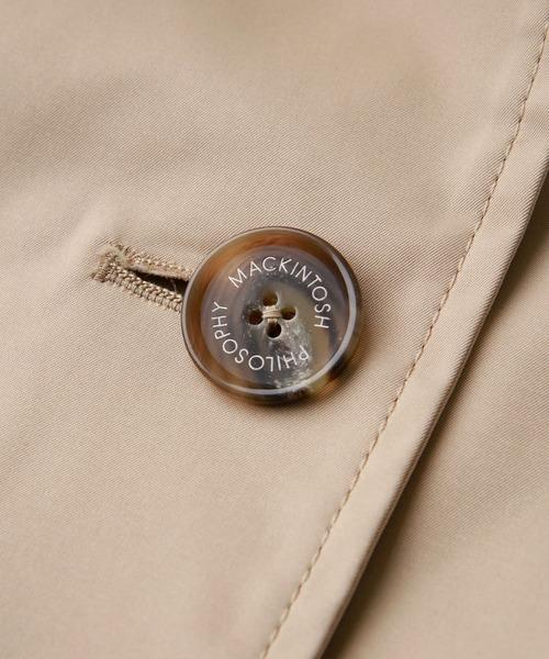 MACKINTOSH PHILOSOPHY(マッキントッシュ フィロソフィー)の「ヴァーチャレックスジャケット(トレンチコート)」|詳細画像