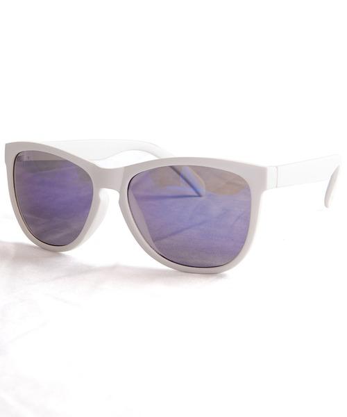 ENTRA(エントラ)の「ENTRA / サングラス 伊達眼鏡 UVカット ミラーレンズ カラーレンズ(サングラス)」 H