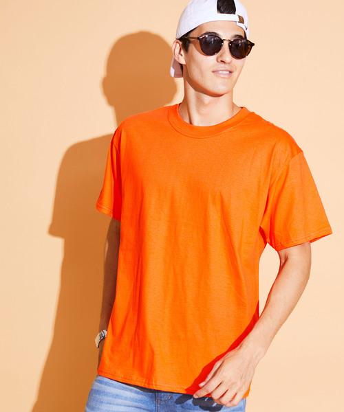Hanes/ヘインズ 6.1 oz. Beefy ビーフィー オーバーサイズ クルーネック 半袖 Tシャツ