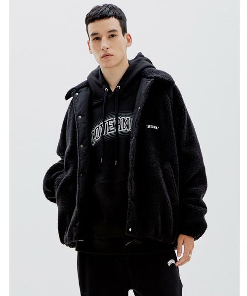 【ラッピング不可】 中綿ボアコーチジャケット(ブルゾン) COVERNAT(カバーナット)のファッション通販, オリジナルプリントSHOP PrintBank:80b9ccea --- skoda-tmn.ru