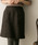 URBAN RESEARCH(アーバンリサーチ)の「台形ミニスカート(スカート)」|ブラウン