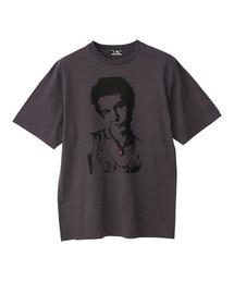 DENNIS MORRIS/SYD 1977 Tシャツチャコールグレー