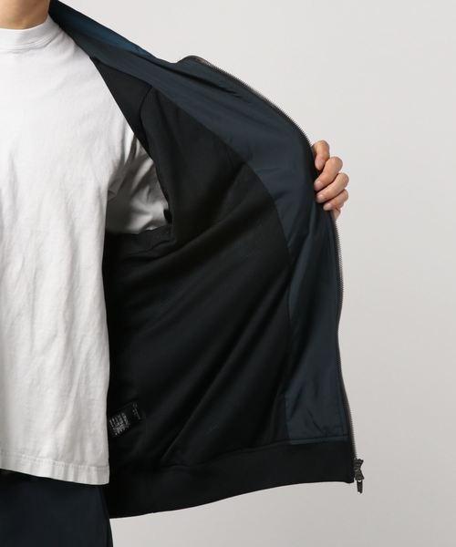 MORGAN HOMME(モルガンオム)の「パネルトラックジャケット(ブルゾン)」|詳細画像
