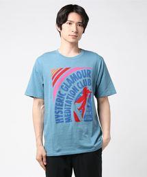 RAINBOW pt Tシャツブルー