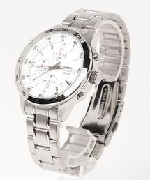 SEIKO セイコー/ 10気圧防水 クォーツ クロノグラフ メタルベルト(腕時計)