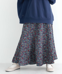 merlot(メルロー)の柄コーデュロイマーメイドスカート3352(スカート)