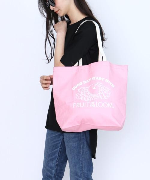 【FRUIT OF THE LOOM/フルーツオブザルーム】BRAIDED CORD TOTE BAG エコバッグ
