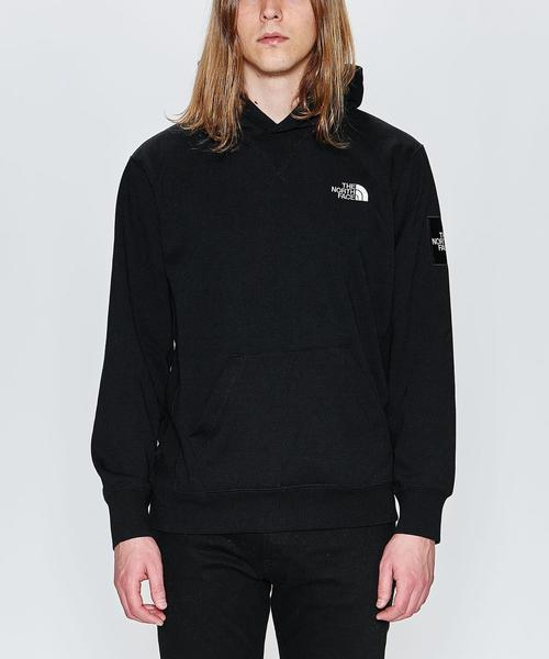 <THE NORTH FACE> SQ LOGO HOODIE/パーカー