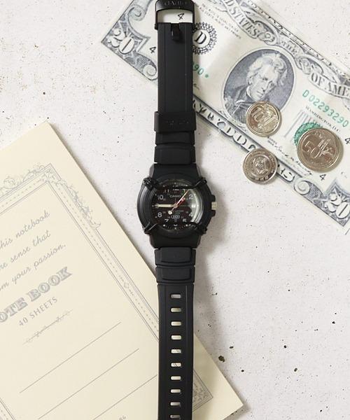 【 CASIO / カシオ 】 スポーツ アナログ 腕時計 HDA600B1B DKS