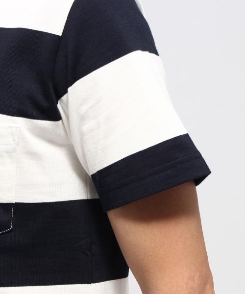 太ボーダー Tシャツ