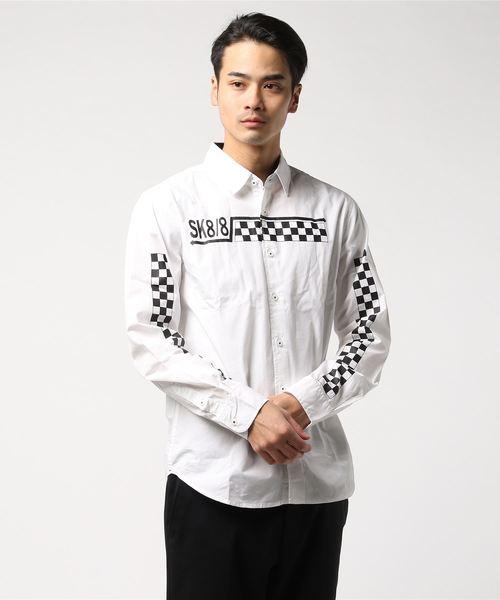 【02 BURNER SELECT】チェッカ-フラッグシャツ