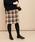 ADAM ET ROPE'(アダムエロペ)の「ポケット付き台形スカート(スカート)」|ブラウン