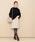 ADAM ET ROPE'(アダムエロペ)の「ポケット付き台形スカート(スカート)」|詳細画像