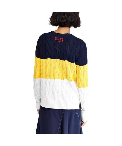 CP-93 コットン ケーブル セーター