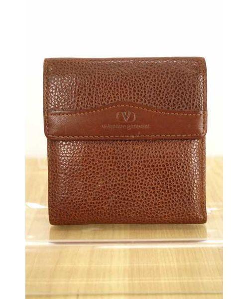 be2cc5fa758e VALENTINO GARAVANI(バレンティノ ガラバーニ)の古着「三つ折り財布(財布)」