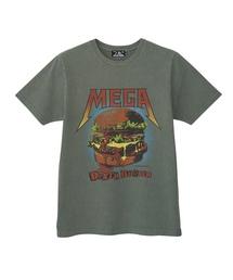 MEGA DEATH BURGER プリント Tシャツ