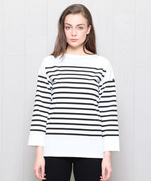 <SAINT JAMES>NAVAL LONG SLEEVE PULLOVER/カットソー