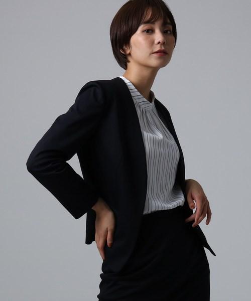 独特な店 【セール】ネオカトレア ノーカラージャケット(スーツジャケット) UNTITLED(アンタイトル)のファッション通販, Silk de Smile:5635976b --- 5613dcaibao.eu.org