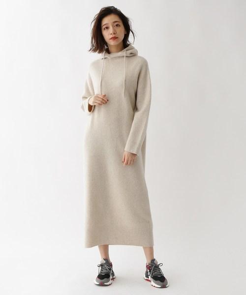 日本製 フード付きニットワンピース(ワンピース)|DRESSTERIOR(ドレステリア)のファッション通販, ミキチョウ:a7369515 --- pyme.pe